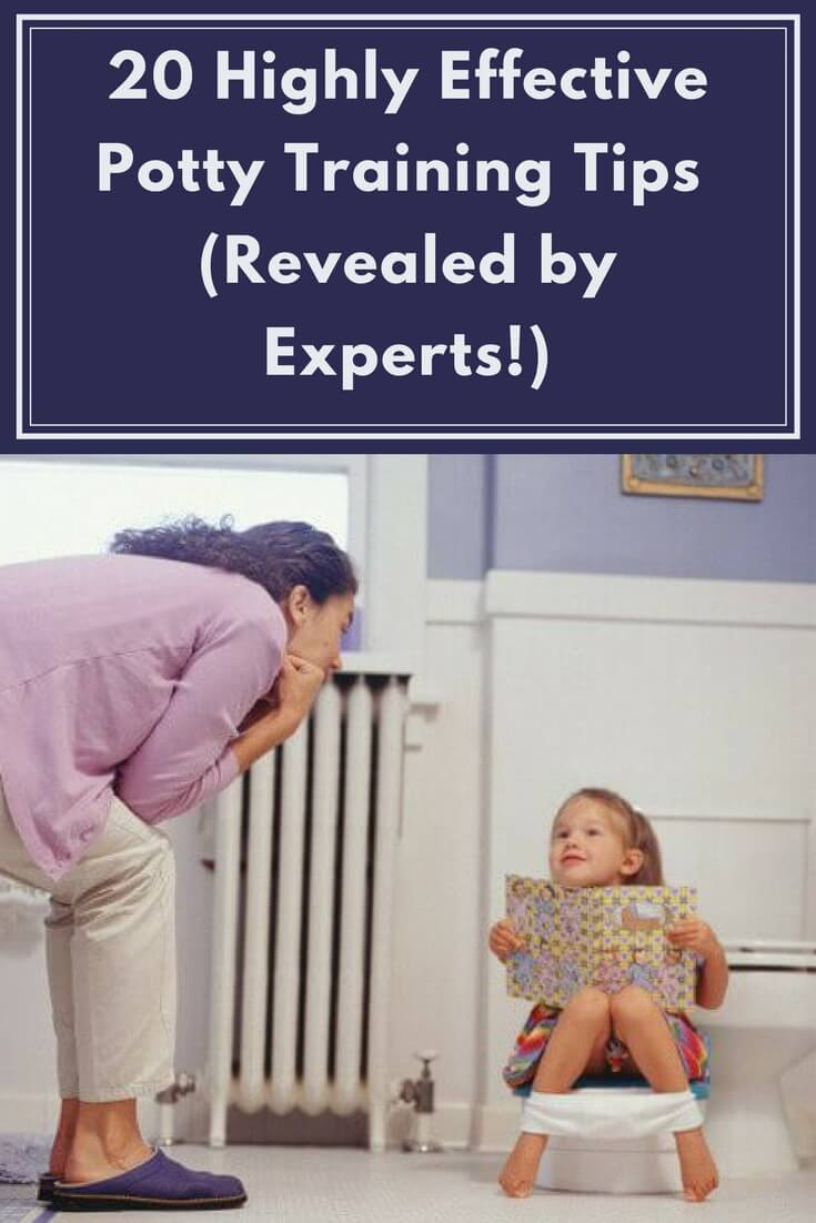 20 Highly Effective Potty Training Tips (Revealed by Experts!)