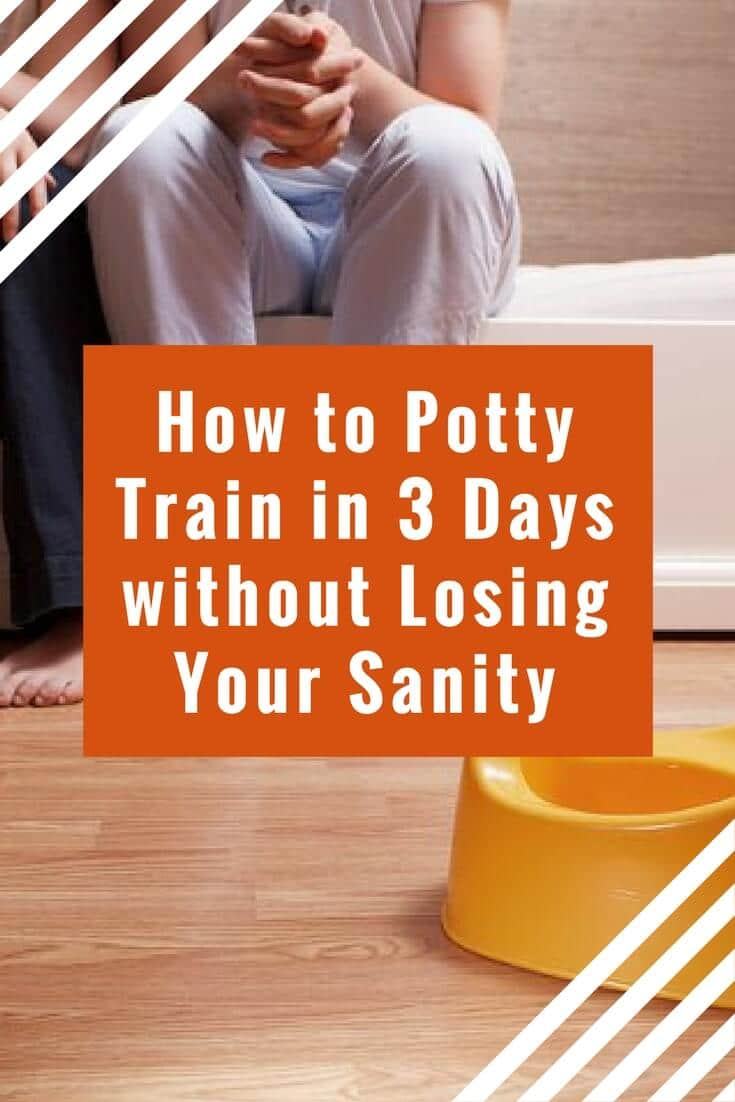 Potty training in 3 days is totally possible. Follow this simple 3 day potty training method to learn how to potty train a toddler fast!