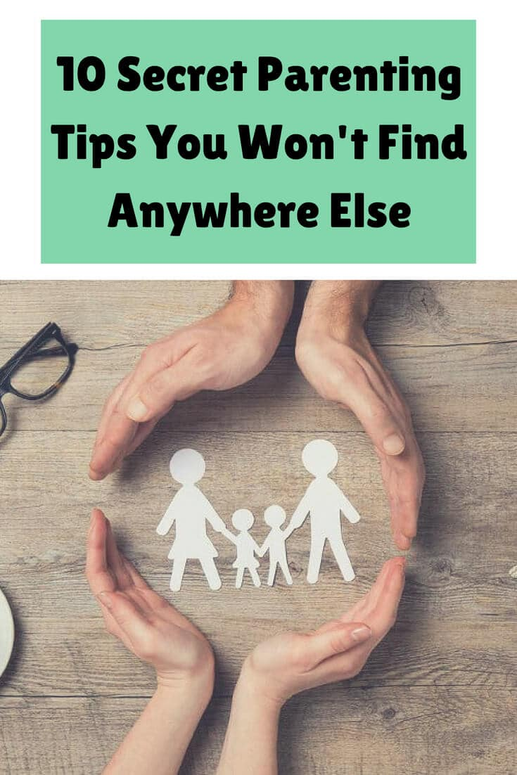 These 10 secret parenting tips will make your life a lot simpler and easier! Start using them today!