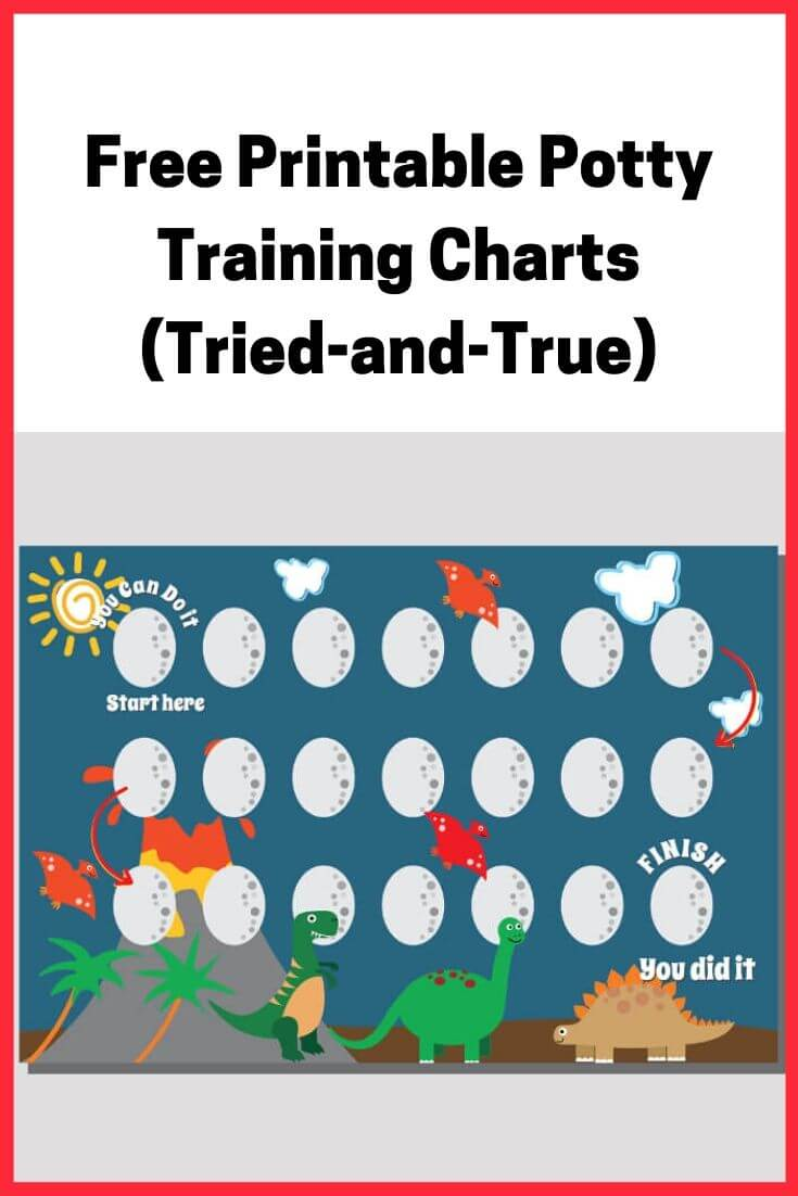 Free Printable Potty Training Charts (Tried-and-True)
